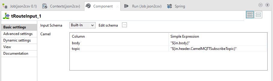 Adding Non JSON Data to Talend tExtractJSONFields